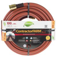 HOSE FARM CONTRACTOR 5/8X100FT