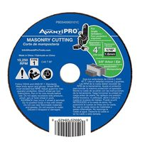 CUTOFF DISC AP MASONRY 4 IN