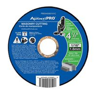 CUTOFF DISC AP MASONRY 4-1/2IN