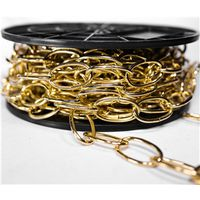 CHAIN DECO BRASS NO10X40FT