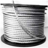 CABLE GALV 7X19 1/4X250FT