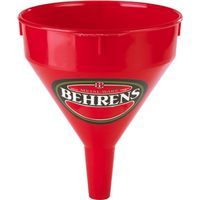 FUNNEL PLASTIC RED 1PT