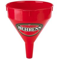 FUNNEL PLASTIC RED 2QT
