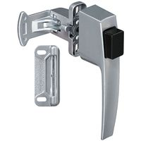LATCH PSHBTN SILVER