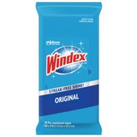 WIPES CLEANER GLASS 28CT