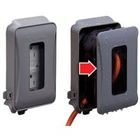 COVER OUTLET OTDR 1 TO 3-1/2IN