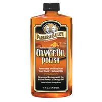 POLISH OIL WOOD ORANGE 16OZ