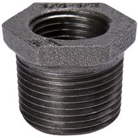 HEX BUSHING BLK 1/2X1/8IN