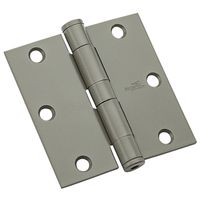 F179 HINGE POL CHRM 3.5X3.5IN