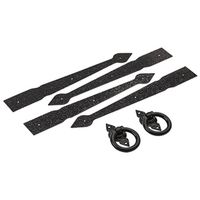 V8414 SPEAR GATE KIT BLK 16IN