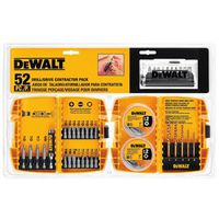DRILL/DRIVER KIT CONTRCTR 53PC