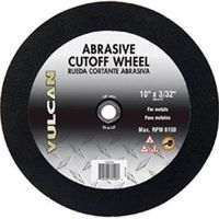 WHEEL CUTOFF ABRASVE 10X3/32IN