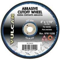 WHEEL CUTOFF ABRSV 4X1/16IN