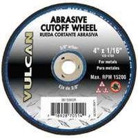 WHEEL CUTOFF ABRSV 4X1/16IN
