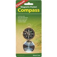 COMPASS POCKT MAGNETC MTL CASE