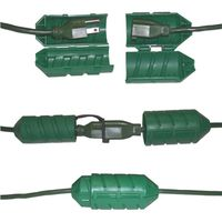 CORD LOCK WATER-TIGHT GREEN