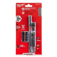 BIT IMPCT SCREWDRIVER KIT 10PC