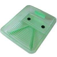 TRAY/COVER 2N1 PLASTIC 9-1/2IN