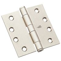 HINGE STD WGT SATIN NICKLE 4IN