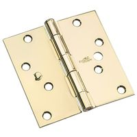 HINGE SECURITY SQ CRN PBRS 4IN