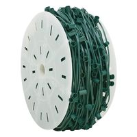 WIRE SPOOL C9 GREEN 1000FT