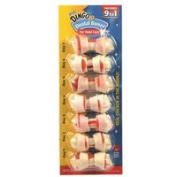 DINGO TREAT MINI WHT BONE 7PK