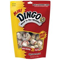 DINGO 2.5IN MINI WHITE 21PK