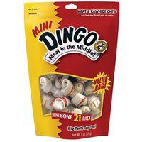 DINGO 2.5IN MINI WHITE 21PK