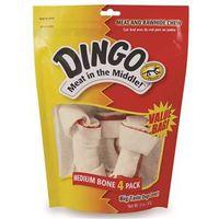 DINGO 5.5-6IN MEDIUM WHITE 4PK