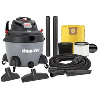 VACUUM WET/DRY 6.5HP 16GALLON