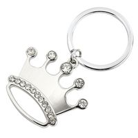 KEYCHAIN KEY RING CROWN JEWEL