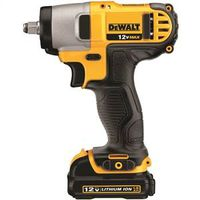 Dewalt DCF813S2 Lightweight Cordless Impact Wrench Kit