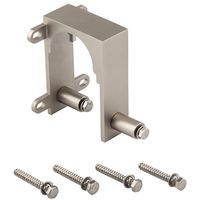 BRACKET BYPASS SATIN NICKEL