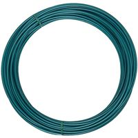 CLOTHSLN WR PLST CTD GRN 600FT