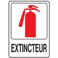 SIGN FIRE EXTINGUISHER