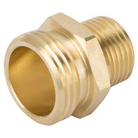 CONNECTOR BRASS 3/4NHX1/2NPT