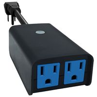 TIMER OUTDOOR 2-OUTLET WIFI