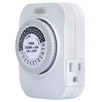 TIMER DUAL OUTLET HEAVY DUTY