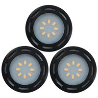 LIGHT PUCK BLACK 3PK