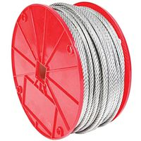 CABLE GALV UNCTD 3/16INX250FT