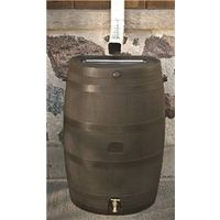 BARREL RAIN BROWN 50 GALLON