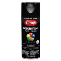 PAINT SPRY GLOSS BLACK 12OZ