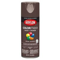 PAINT SPRY GLS LTHR BROWN 12OZ