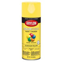 PAINT SPRY GLS SUN YELLOW 12OZ