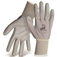 GLOVE NYLON PU COATED PALM L