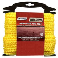 Lehigh DF4100-3W Hollow Braided Rope