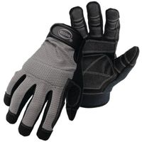 GLOVE MECHANICS MESHBK W/PVC L