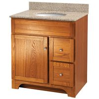 VANITY 30X21 1DR/2DRAWER OAK