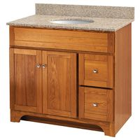 VANITY 36X21 2DR/2DRAWER OAK