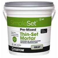 SimpleSet CTTSG1-2 Pre?Mixed Thin?Set?Mortar